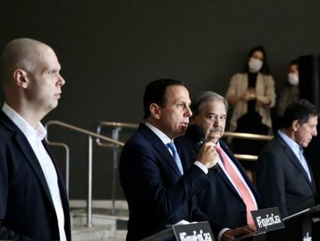 Governo de São Paulo prorroga quarentena até dia 10 de maio