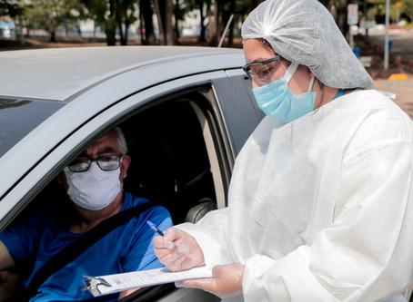 Prefeitura de Carapicuíba realiza drive-thru para testagem de coronavírus