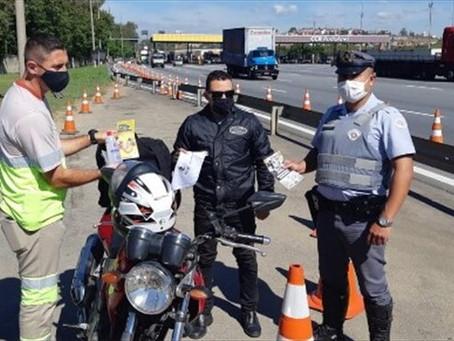 Campanhas sensibilizam motoristas durante Semana Nacional de Trânsito