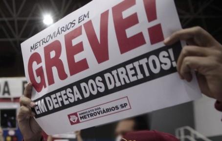 São Paulo: Metroviários decidem entrar em greve nesta terça-feira