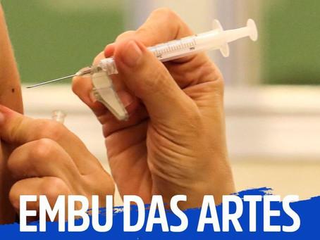 Covid: Embu das Artes é a primeira cidade da região a iniciar vacinação para idosos acima de 78 anos