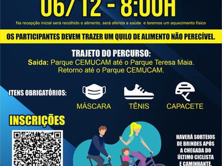 Granja Viana sedia no próximo domingo o 1º Passeio Estácio de Ciclismo e Caminhada