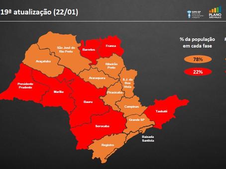 São Paulo: Fase vermelha das 20h às 6h começa a valer nesta segunda em todo o estado