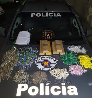 Equipes de BAEP prendem suspeitos de praticar sequestro relâmpago na Granja Viana