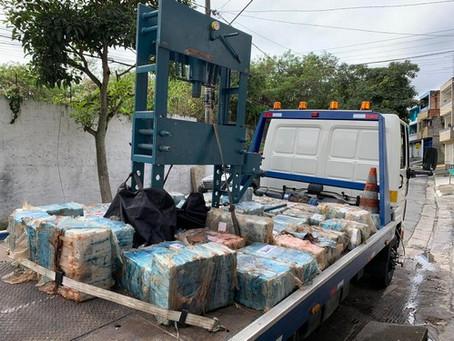 Após denúncia anônima, policiais do Denarc apreendem grande quantidade de drogas em SP