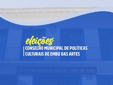 """Embu das Artes: Veja locais e documentos para votar na eleição do """"Conselho de Políticas Culturais"""""""