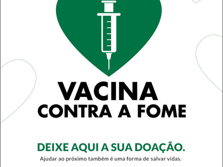 "VGP: Fundo Social de Solidariedade adere à campanha ""Vacina Contra a Fome"""