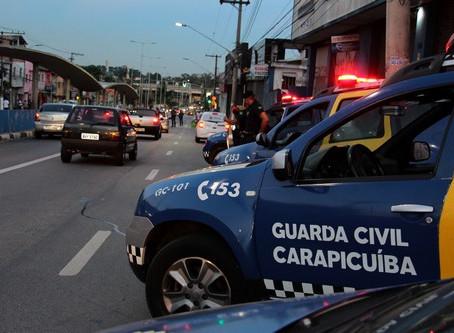 Carapicuíba: Guarda Civil realiza ações de combate aos pancadões e aglomerações no fim de semana