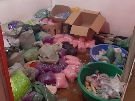 Equipe do 5º Baep apreende 13.070 kg de drogas em Carapicuíba