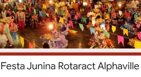 Jovens rotarianos realizam festa junina online para ajudar no combate à Covid-19