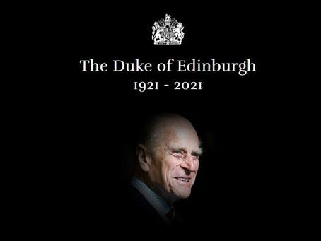 Reino Unido: Morre o Príncipe Philip, aos 99 anos