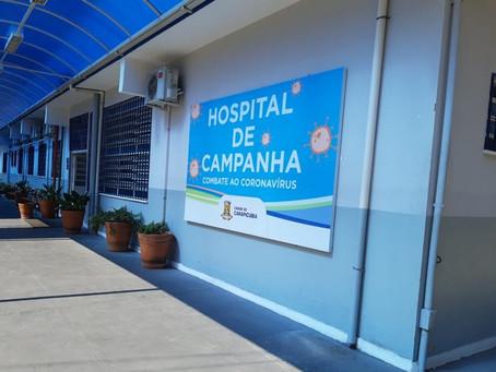 Carapicuíba: Prefeito entrega Hospital de Campanha