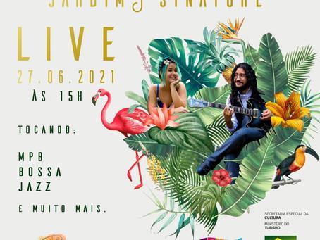 Cotia: Neste domingo, o duo Jardim Sinatore faz live exclusiva com o melhor da MPB