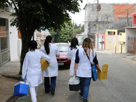 Cotia realizará Campanha de Vacinação contra a Gripe nas residências de idosos acamados