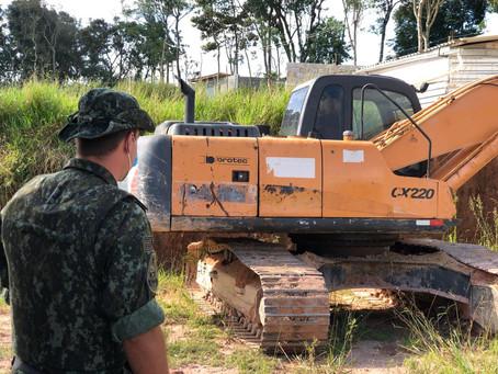 Polícia Ambiental recebe nova denúncia de loteamento irregular em área de Proteção aos Mananciais