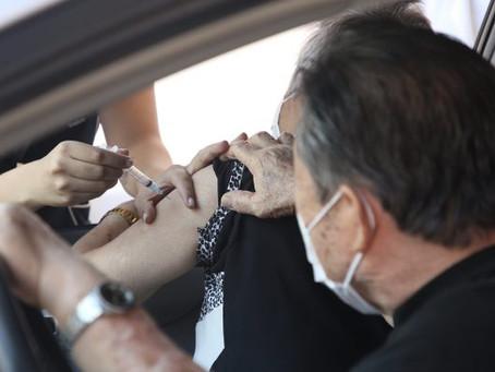 SP inicia vacinação de idosos com 70 e 71 anos contra Covid-19 ainda em março
