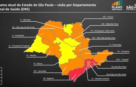 Desdobramentos do Plano São Paulo: Maioria das regiões avançam para fase menos restritiva