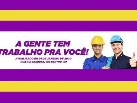 São Roque tem mais de 30 vagas de emprego disponíveis