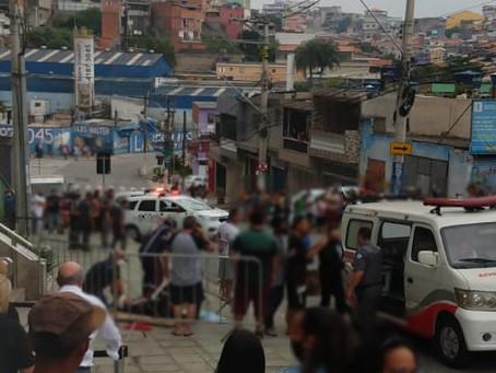 Nove pessoas são atropeladas por motorista em fuga, em Carapicuíba