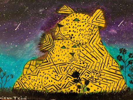 Cotia ganha o primeiro mural artístico em empena produzido por uma artista indígena