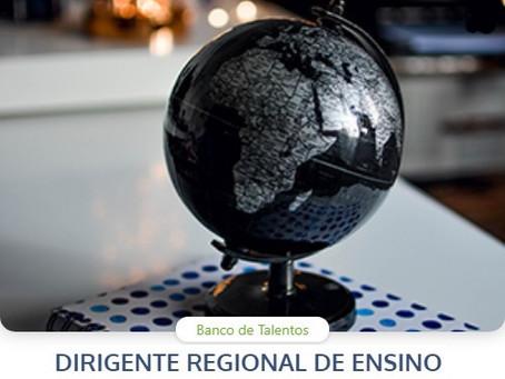 Educação SP cria Banco de Talentos e recebe inscrições para o cargo de dirigente regional de ensino