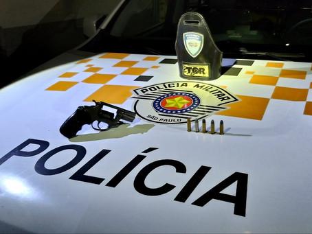 Castello Branco: Indivíduo armado é preso pela equipe de TOR