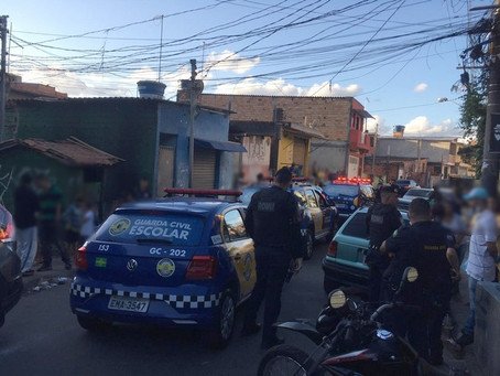 Carapicuíba: Guarda Civil interrompe campeonato de futebol na Cohab