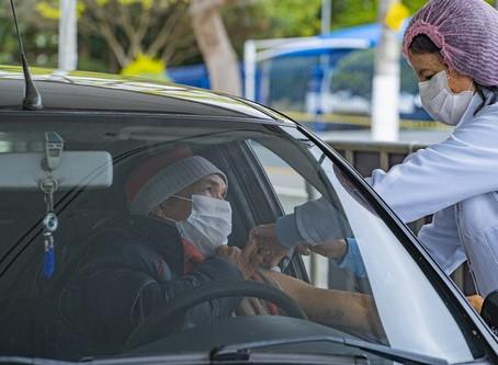 Neste sábado (30) acontece o último drive-thru da campanha de vacinação contra a gripe