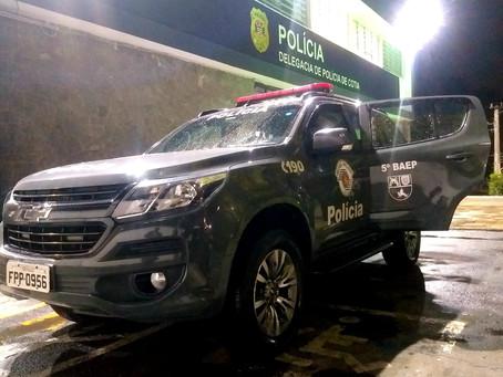 Cotia: Equipe de Baep prende autor de roubo na divisa com Itapevi
