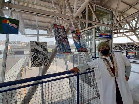 EMTU/SP: Terminal Cotia recebe exposição com materiais recicláveis sobre a valorização da vida