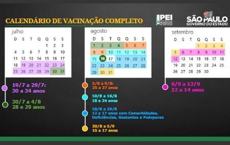 Covid-19: São Paulo antecipa a vacinação de adultos e adolescentes