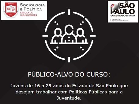 Subsecretaria da Juventude abre inscrições para curso de Políticas Públicas