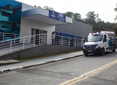 Começa a funcionar a nova UBS do Mirizola: 1º unidade 100% digital de Cotia