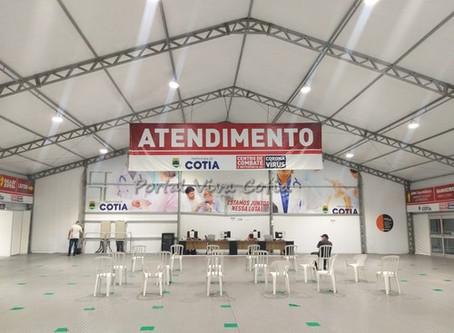 Cotia: Centro de Combate ao Coronavírus é desativado