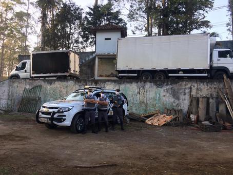 Santana de Parnaíba: Polícia Rodoviária localiza carga roubada