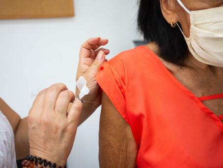 Itapevi: Vacinação contra Covid-19 para idosos de 75 a 76 anos começa na segunda (15)