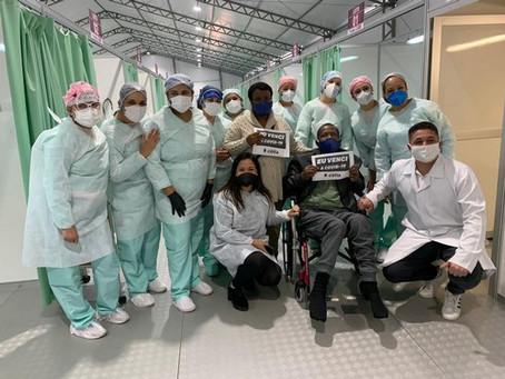 Taxa de pacientes recuperados da Covid-19 chega a 89% em Cotia, mas momento exige cuidados