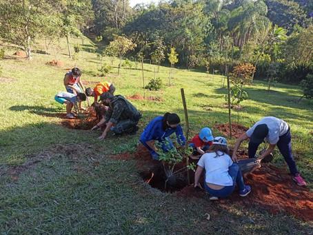 Polícia Ambiental realiza ação de educação ambiental no Parque Cemucam