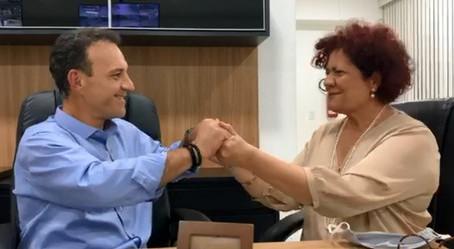 Cotia: Rogério Franco anuncia Angela Maluf como pré-candidata à vice-prefeita