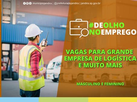 Jandira: Casa do Trabalhador divulga mais de 800 oportunidades de emprego
