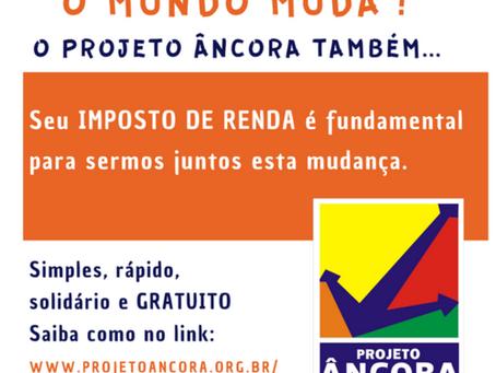 Projeto Âncora: Carta do mês de Junho