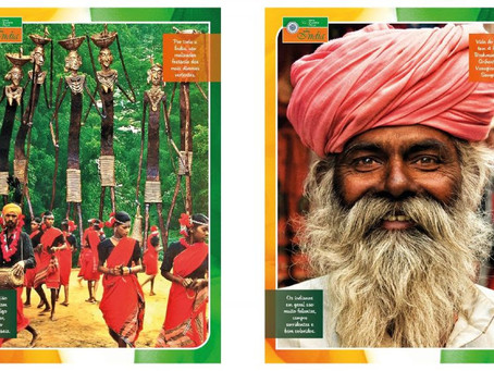 Metrô: Estação Adolfo Pinheiro recebe mostra sobre a cultura e as belezas da Índia