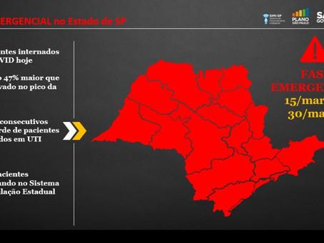 Quarentena: Fase emergencial entra em vigor em todo o estado de SP