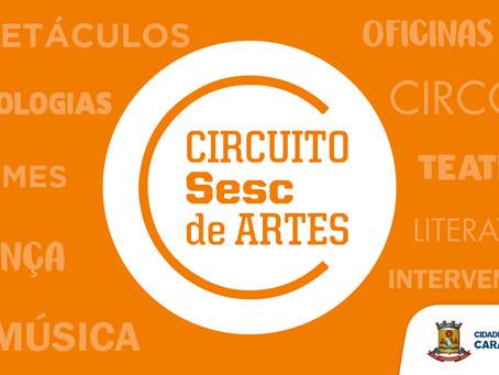 Carapicuíba: Em parceria, Secretaria de Cultura realizará Circuito Sesc de Artes