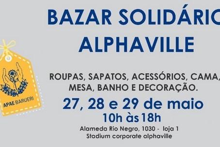 Bazar Solidário Alphaville acontece em benefício da APAE Barueri