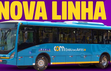 Embu das Artes: Nova linha de ônibus beneficia moradores do Jd. São Luiz e região