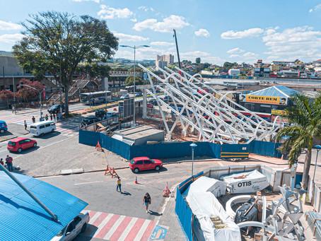 Itapevi: Nova passarela da estação de trem da CPTM será instalada neste final de semana