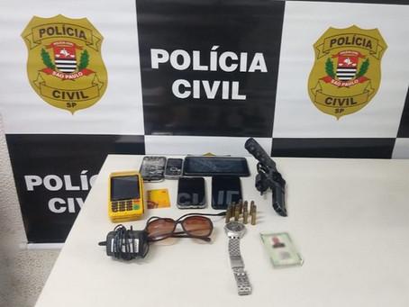 Polícia Civil prende suspeito de participar de sequestros relâmpagos na região