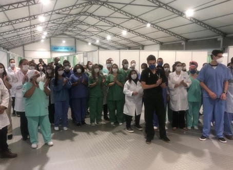 Embu das Artes: Prefeitura encerra as atividades do 1° Centro Médico de Combate ao Coronavírus