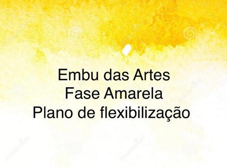 Embu das Artes avança à Fase Amarela